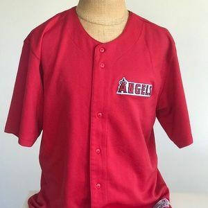 5bf2c5bda53 Genuine Merchandise Shirts - Mens MLB LA Angels jersey XL